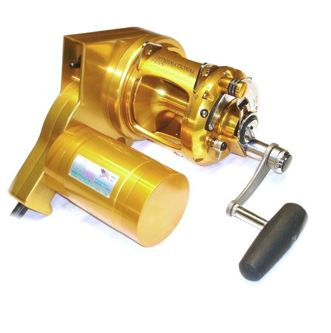 penn international : electric fishing reels, , dolphin electric, Reel Combo